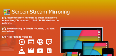 Screen Stream Mirroring на андроид