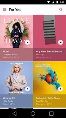 Apple Music на андроид