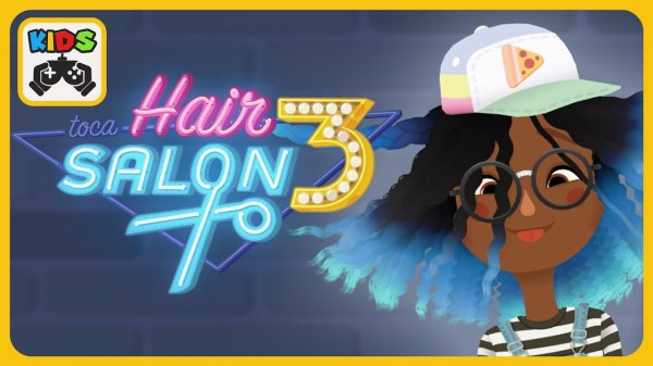 Toca Hair Salon 3 на андроид