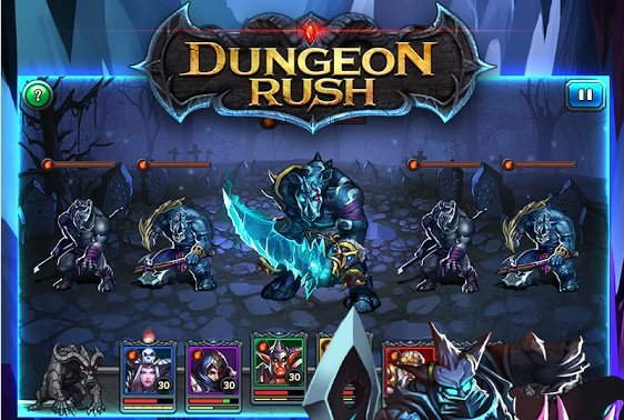Dungeon Rush на андроид