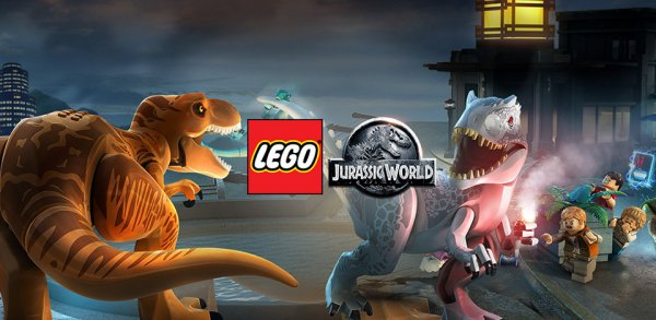 LEGO Jurassic World на андроид