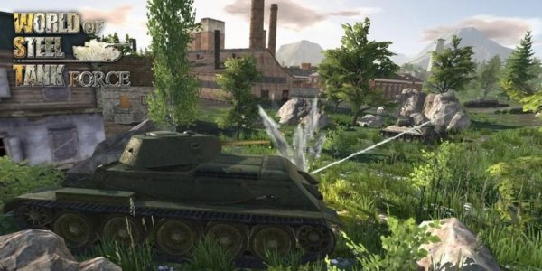 World Of Steel: Tank Force на андроид