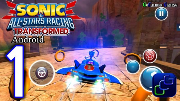 Sonic & All-Stars Racing Transformed на андроид