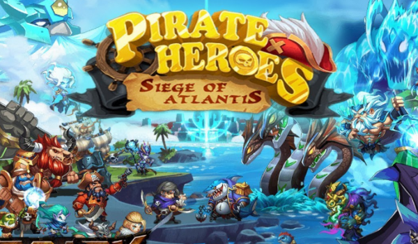 Pirate Heroes: Siege of Atlantis на андроид
