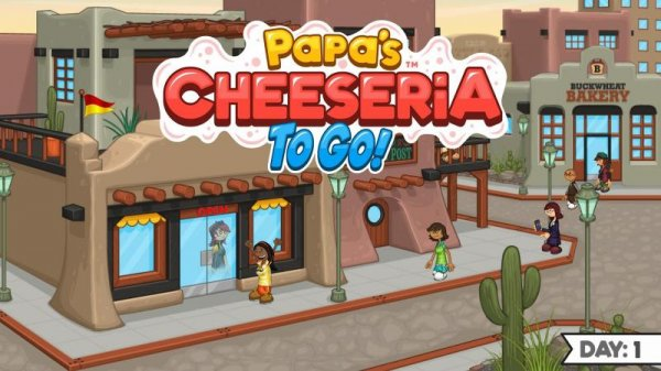 Papa Cheeseria To Go! на андроид
